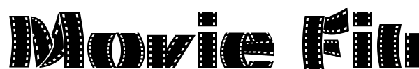 Movie Filmstrip шрифт